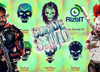 Suicide Squad Animation